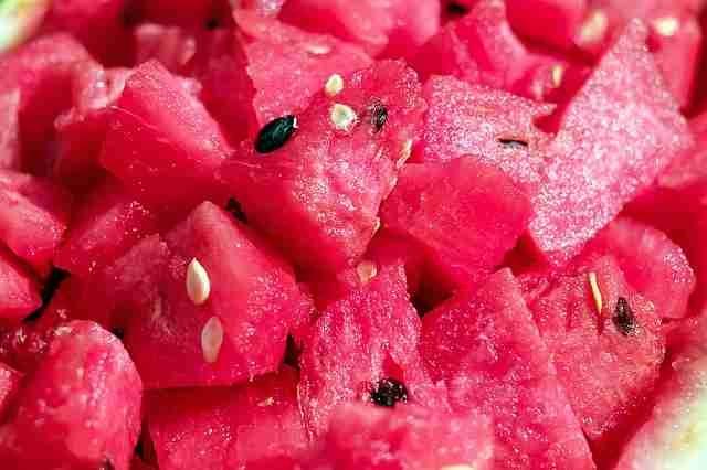 melon chunks